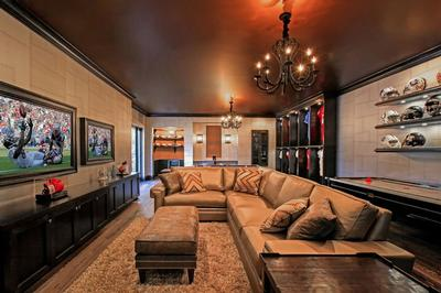 contemporary basement