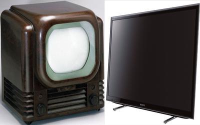 Televisions evolution